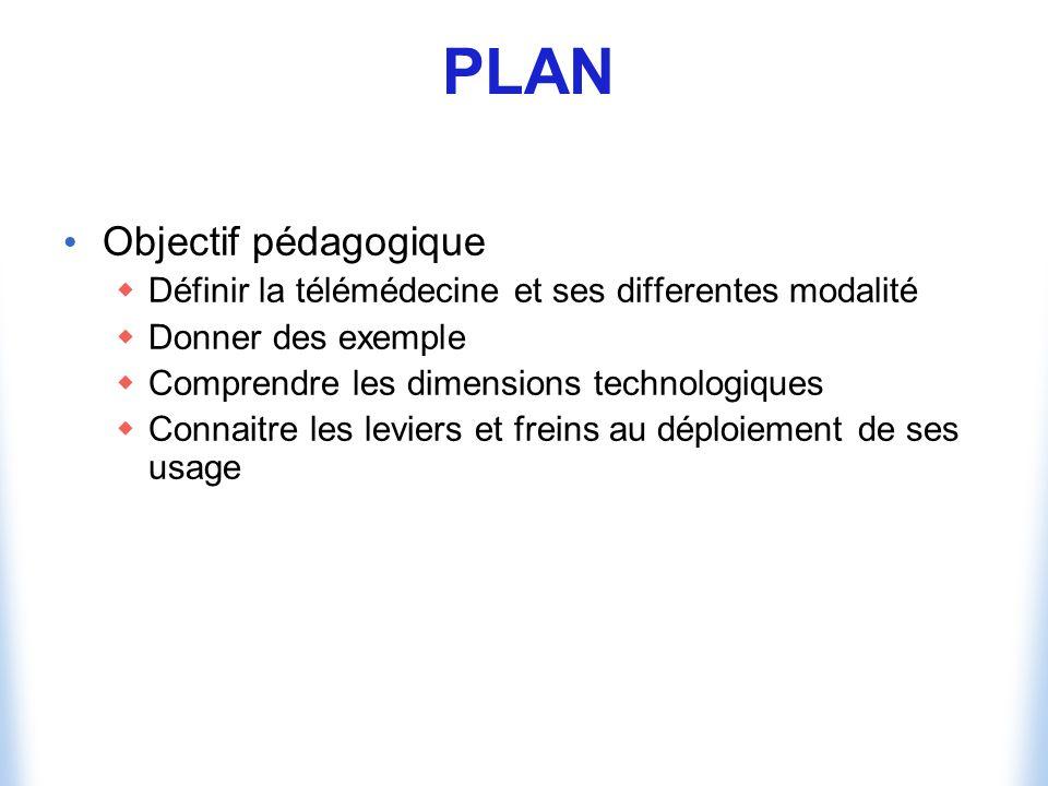 PLAN Objectif pédagogique