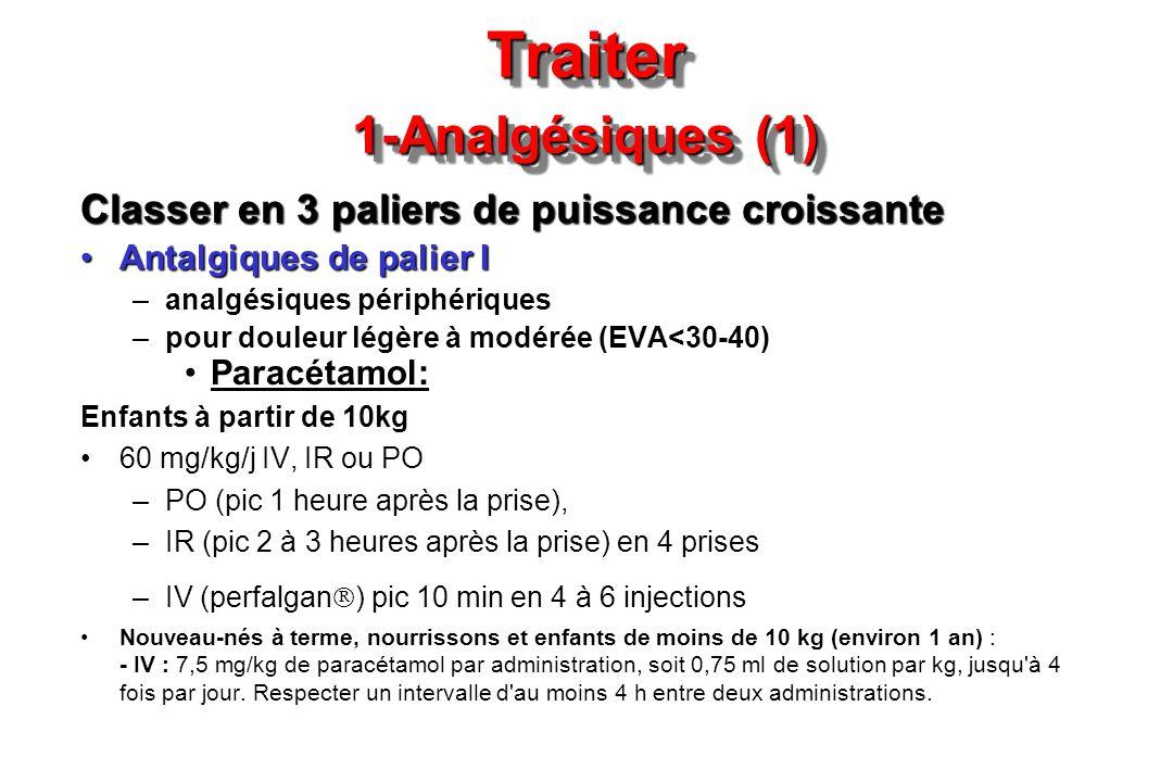 Traiter 1-Analgésiques (1)
