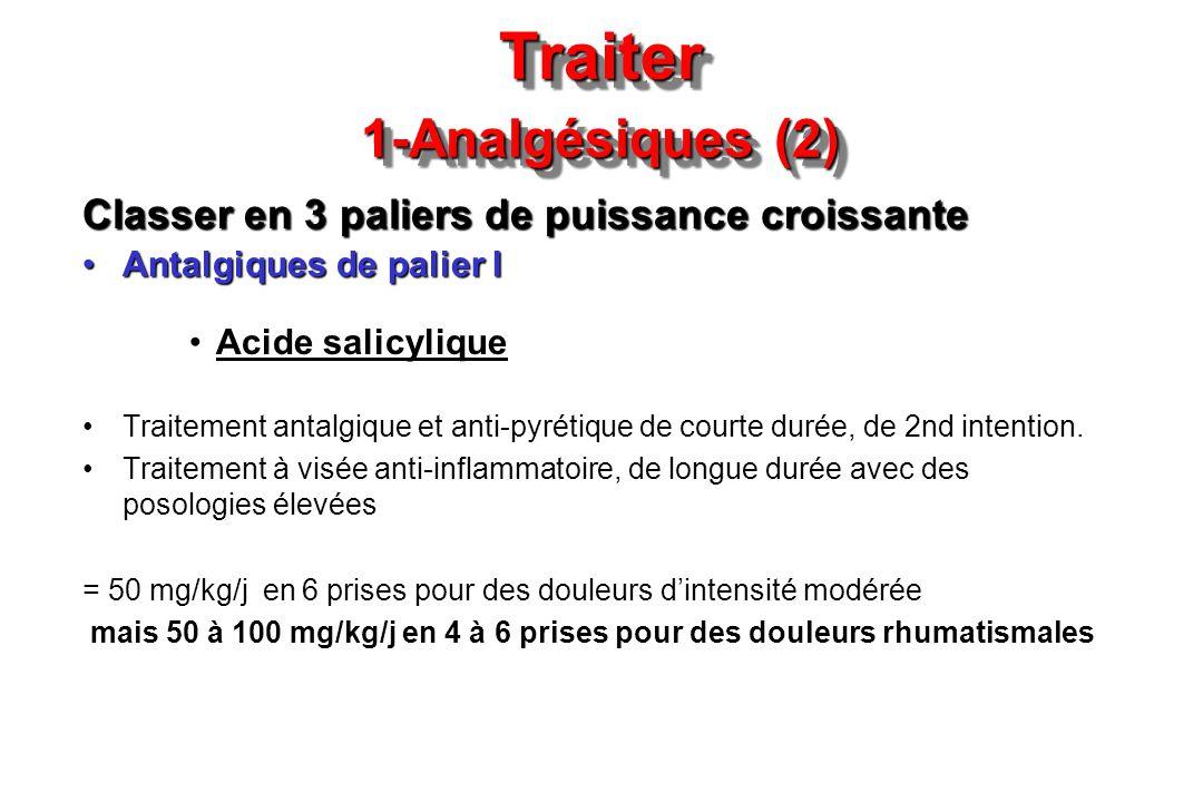 Traiter 1-Analgésiques (2)