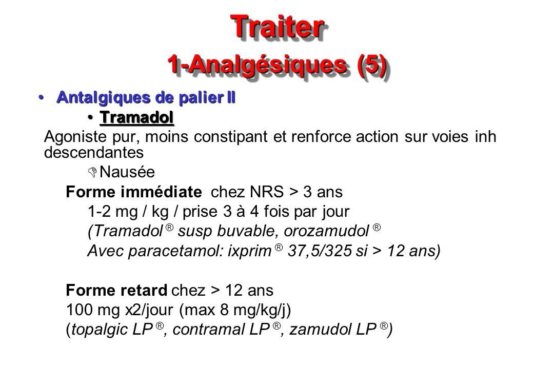 Traiter 1-Analgésiques (5)