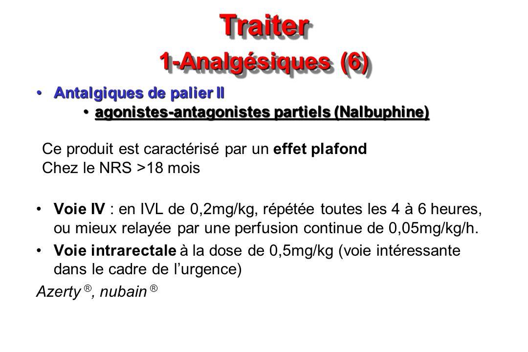 Traiter 1-Analgésiques (6)