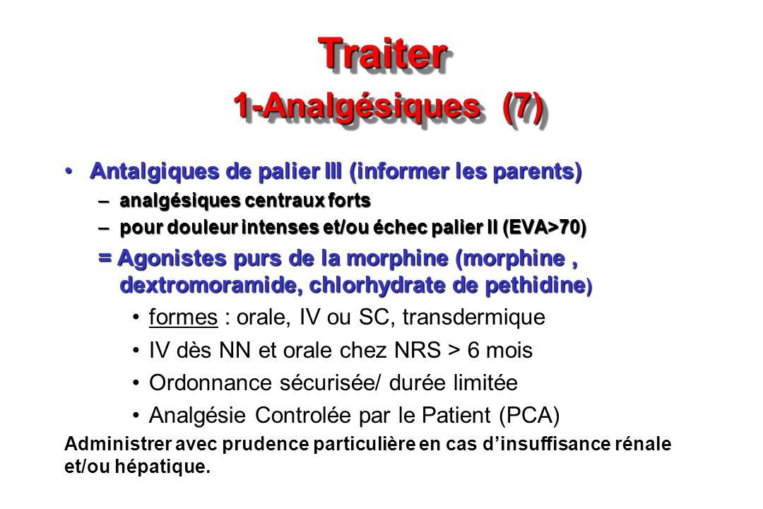 Traiter 1-Analgésiques (7)