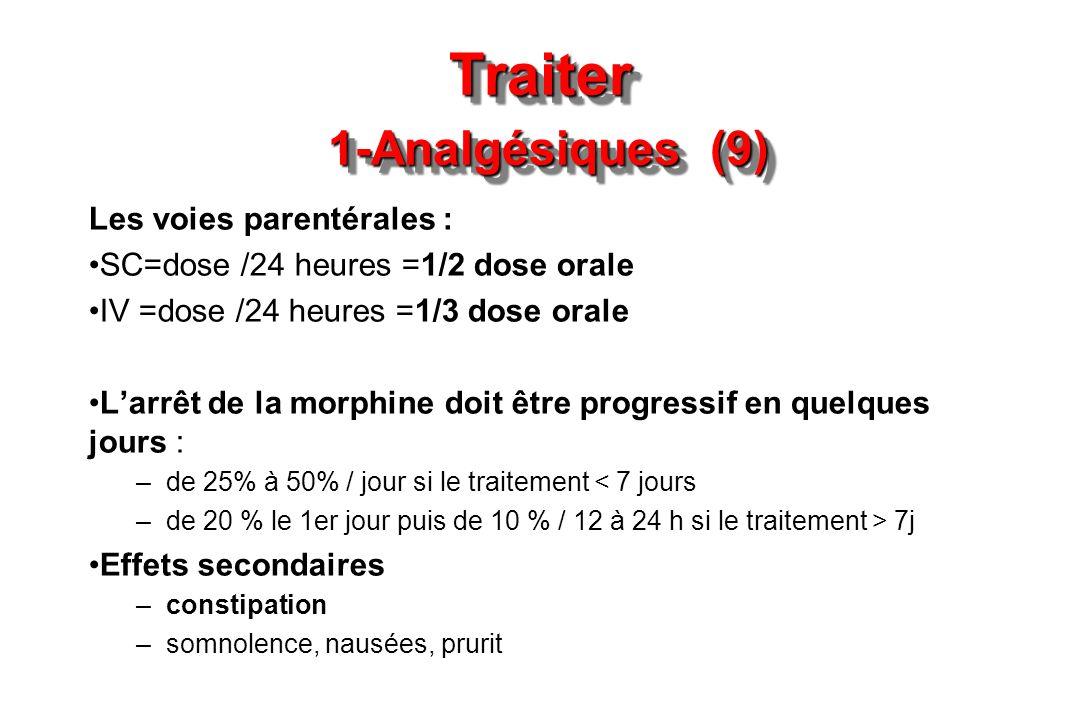 Traiter 1-Analgésiques (9)