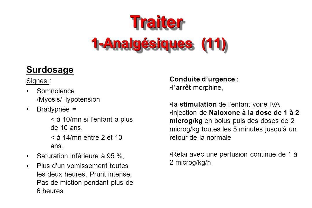 Traiter 1-Analgésiques (11)