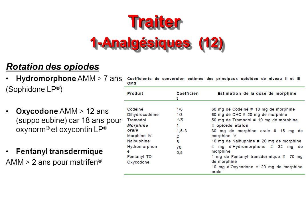 Traiter 1-Analgésiques (12)