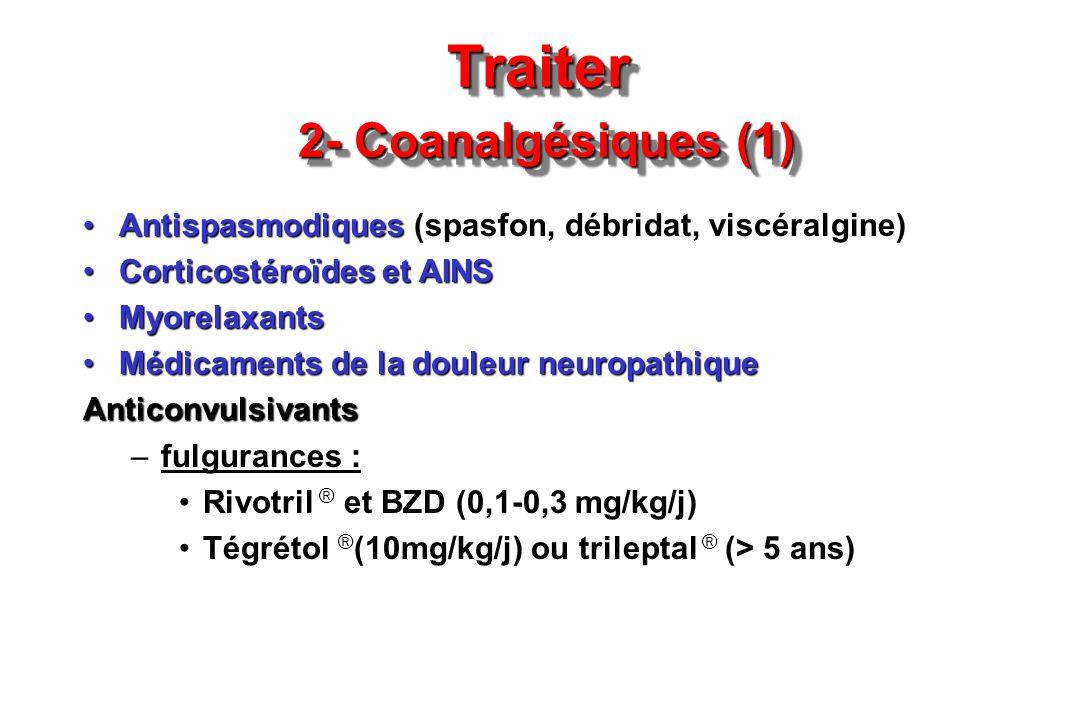 Traiter 2- Coanalgésiques (1)
