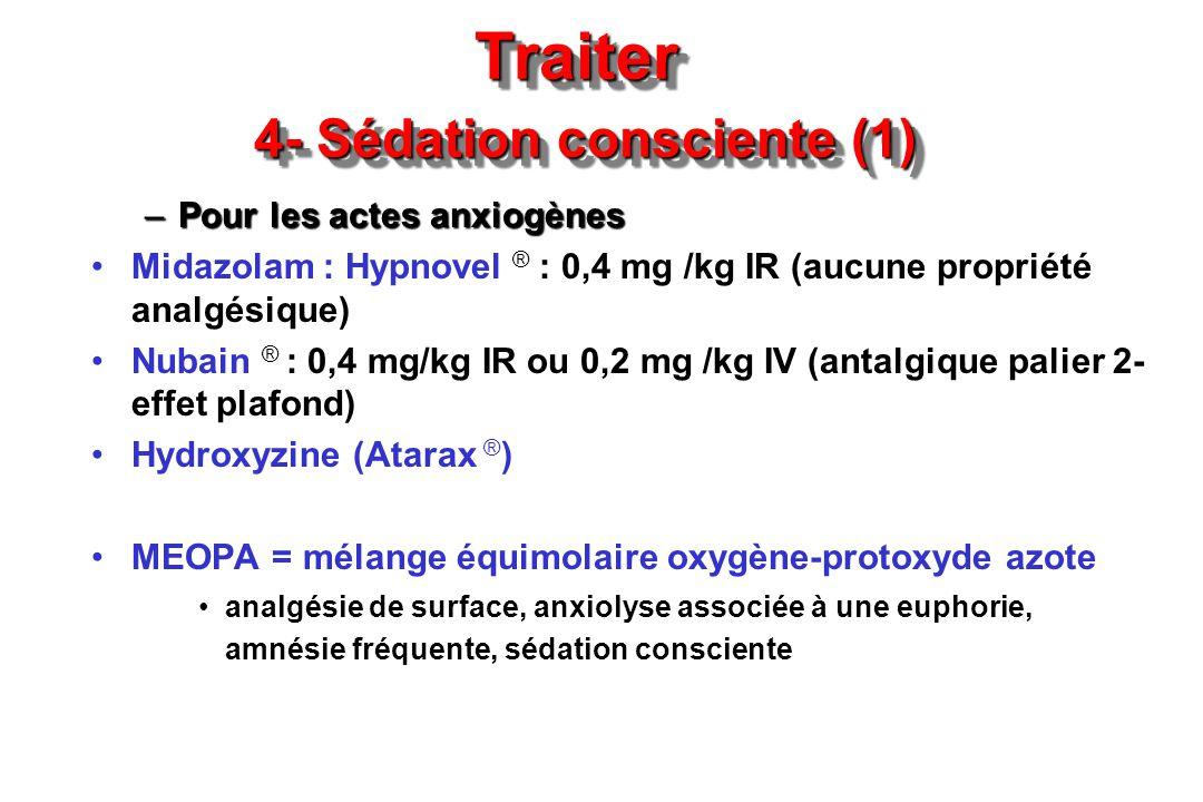 Traiter 4- Sédation consciente (1)