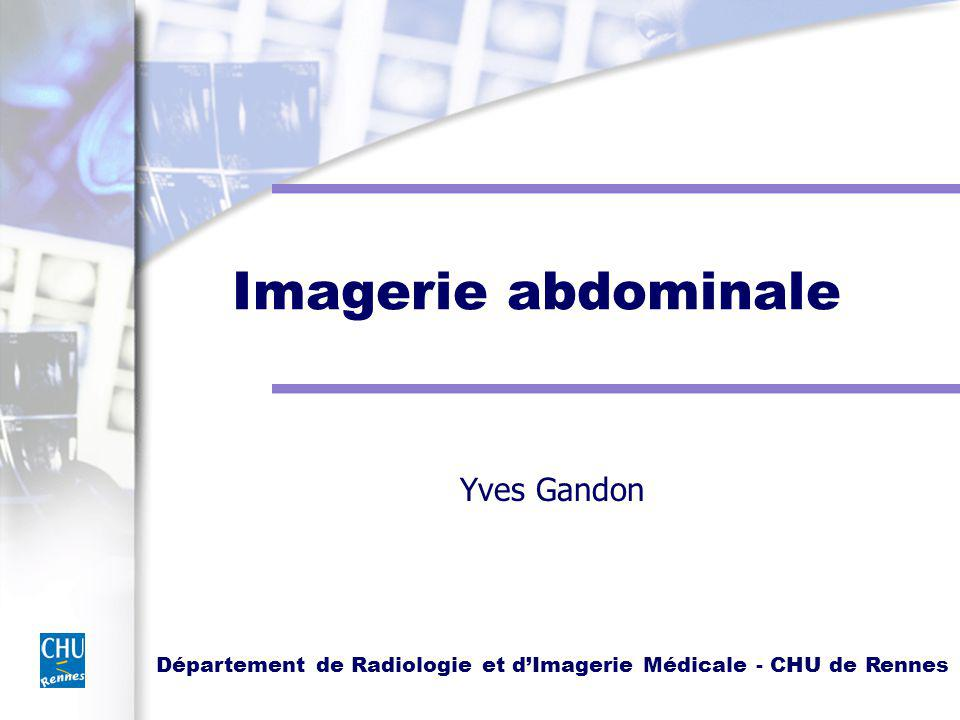 Imagerie abdominale Yves Gandon