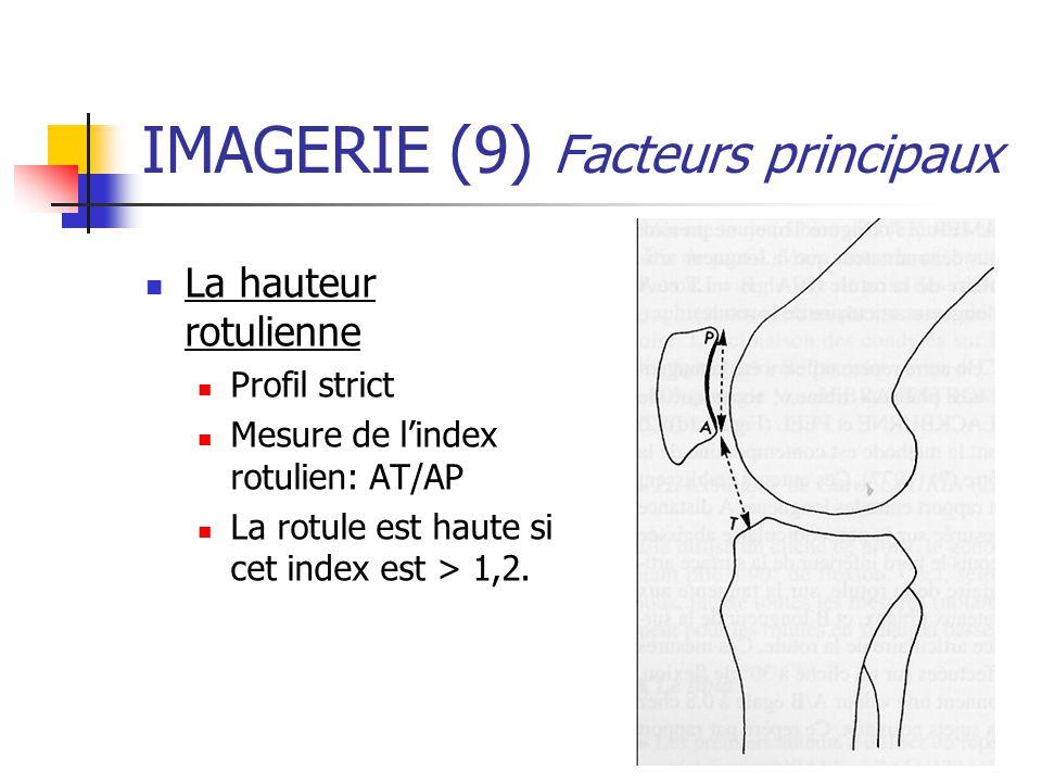 IMAGERIE (9) Facteurs principaux