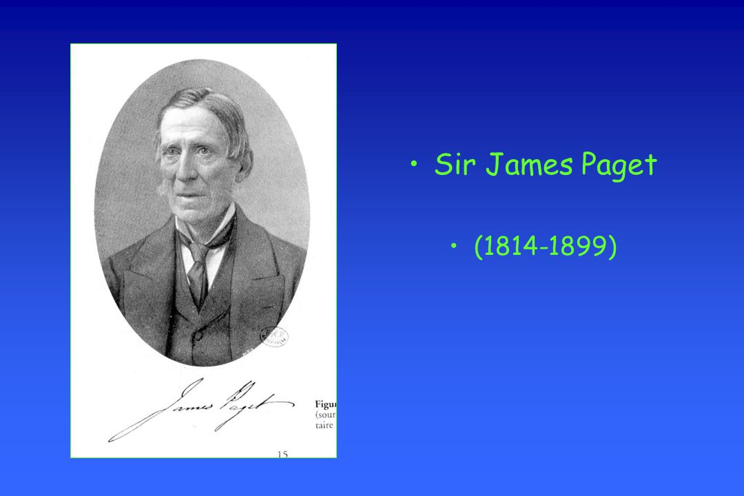 Sir James Paget (1814-1899)