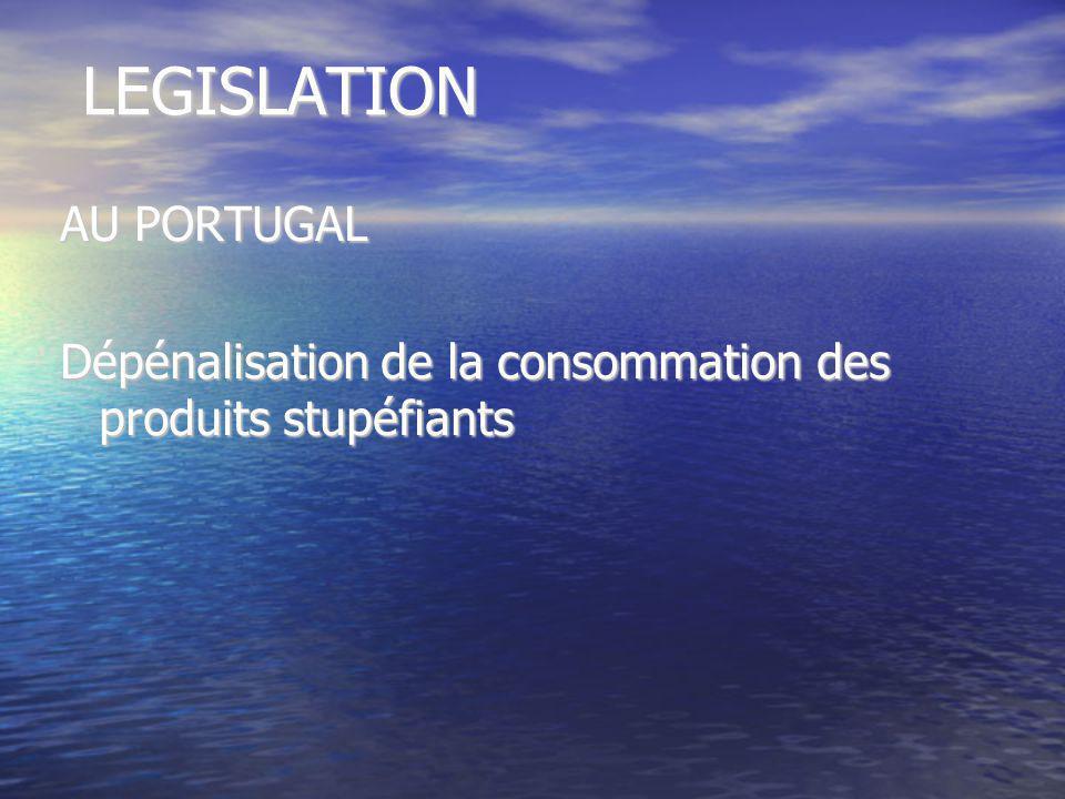 LEGISLATION AU PORTUGAL