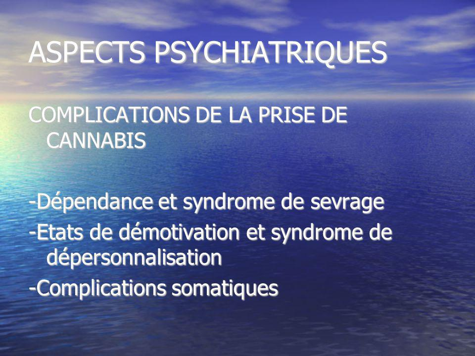 ASPECTS PSYCHIATRIQUES