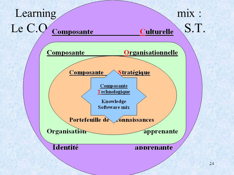Learning mix : Le C.O.