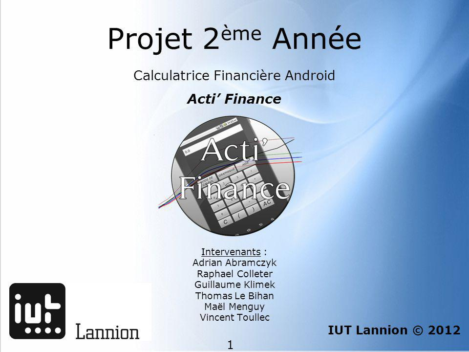 Calculatrice Financière Android