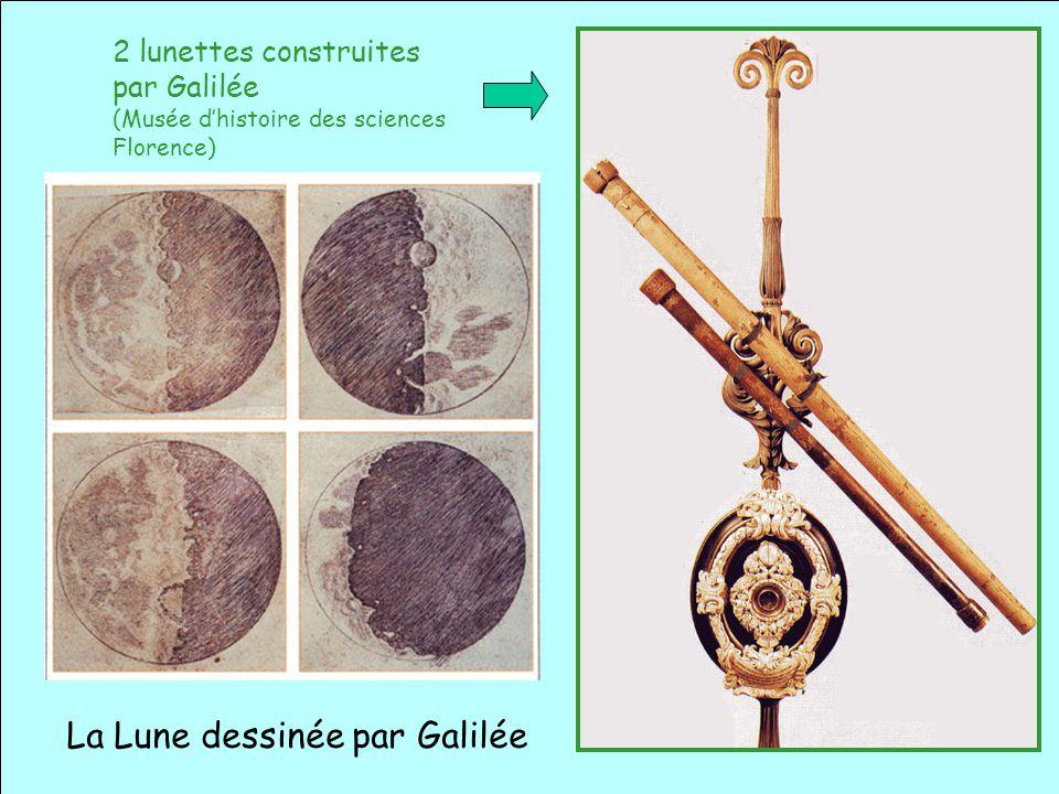 La Lune dessinée par Galilée