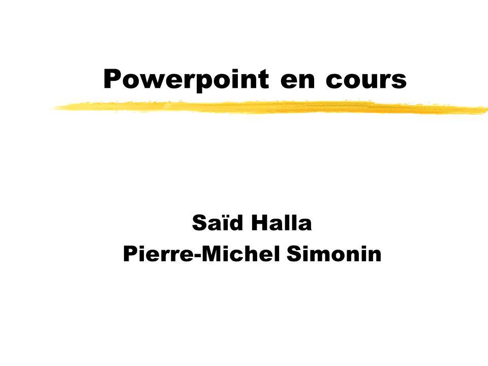 Saïd Halla Pierre-Michel Simonin