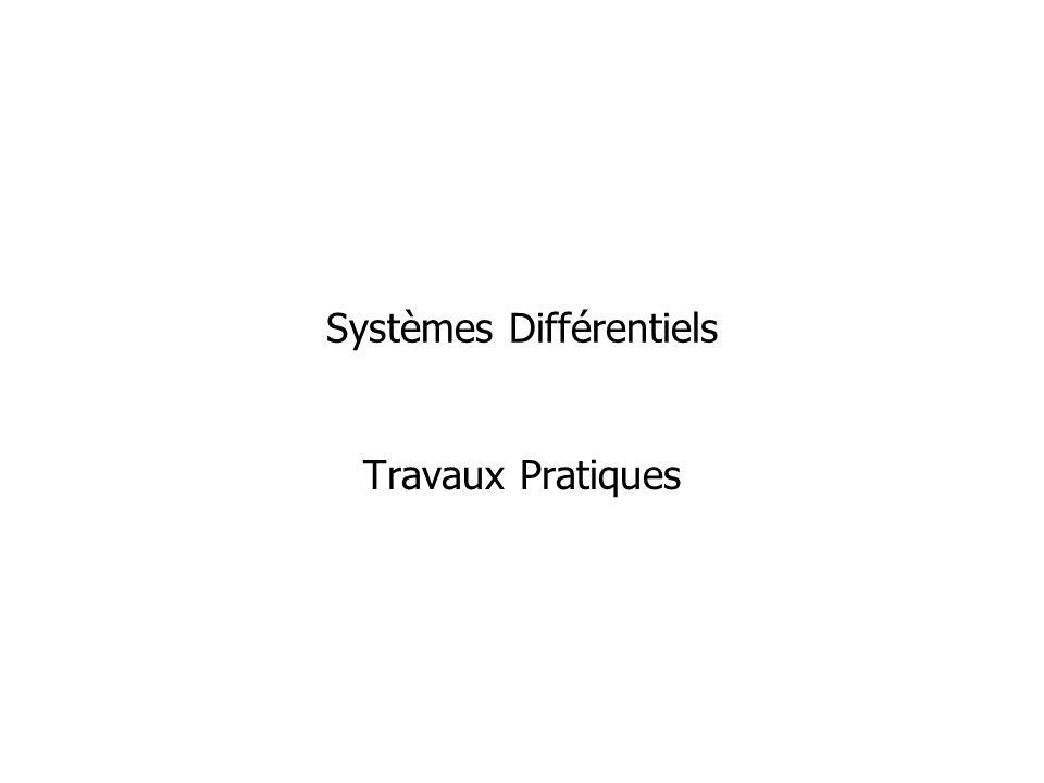 Systèmes Différentiels