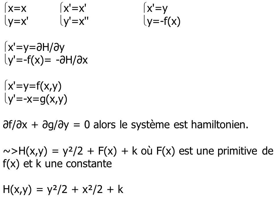 x=x x =x x =y y=x y =x y=-f(x) x =y=∂H/∂y. y =-f(x)= -∂H/∂x. x =y=f(x,y) y =-x=g(x,y)
