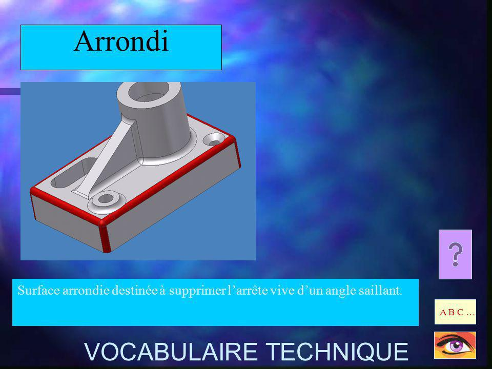 Arrondi VOCABULAIRE TECHNIQUE