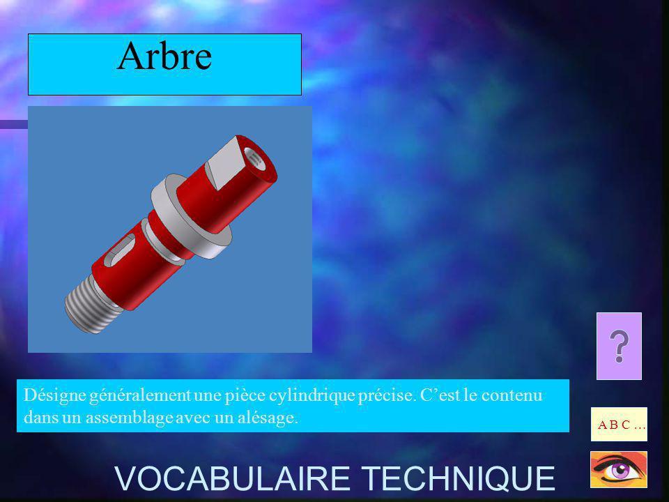 Arbre VOCABULAIRE TECHNIQUE