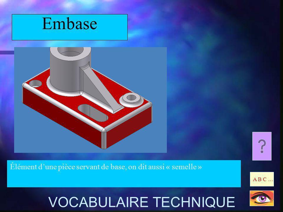 Embase VOCABULAIRE TECHNIQUE