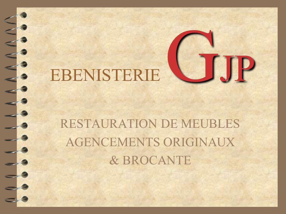 RESTAURATION DE MEUBLES AGENCEMENTS ORIGINAUX & BROCANTE