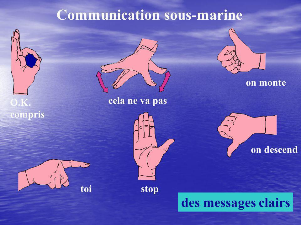 Communication sous-marine
