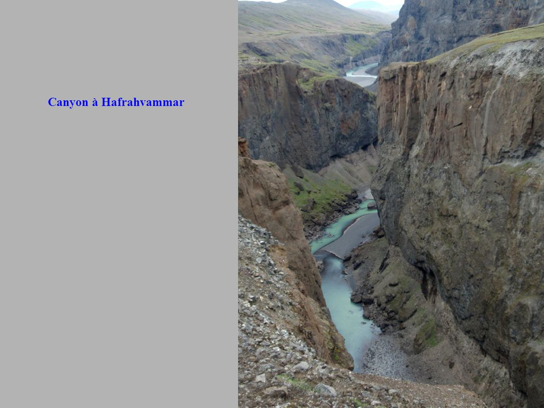 Canyon à Hafrahvammar
