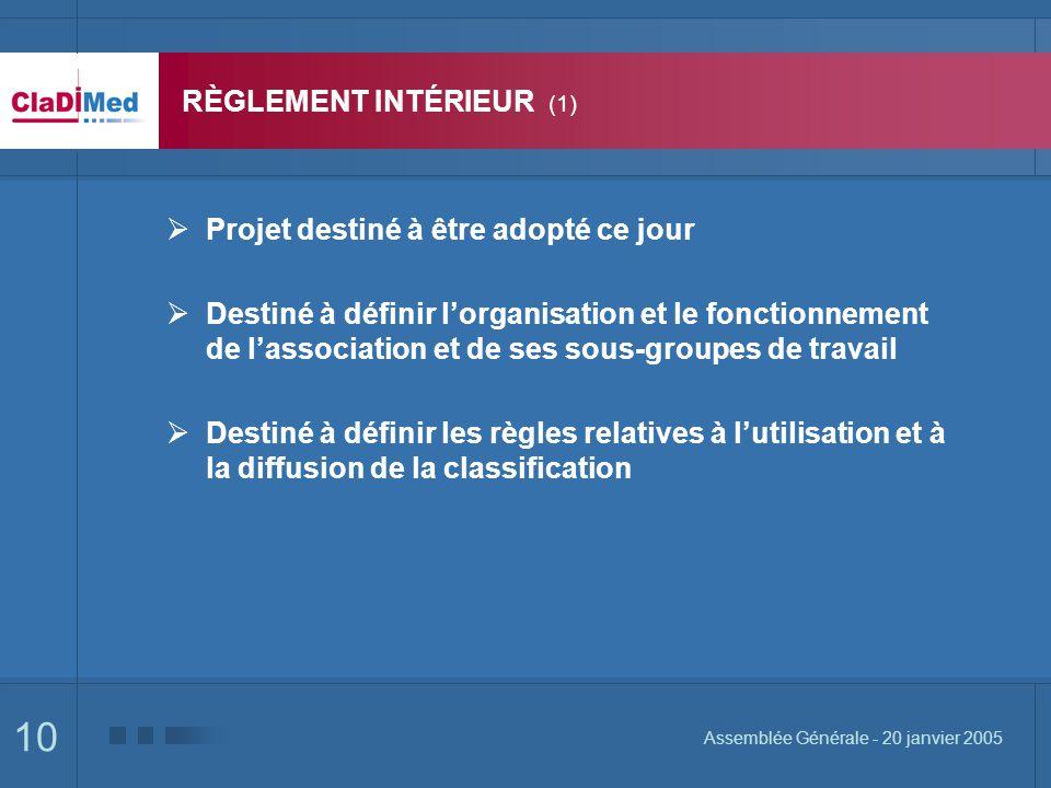 RÈGLEMENT INTÉRIEUR (1)