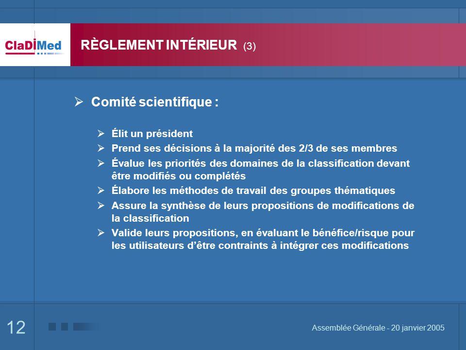RÈGLEMENT INTÉRIEUR (3)
