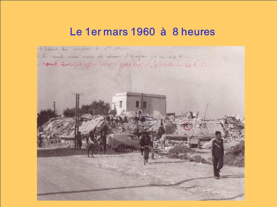 Le 1er mars 1960 à 8 heures