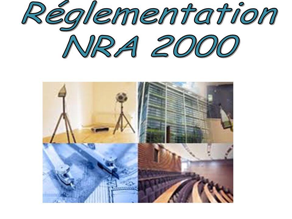 Réglementation NRA 2000