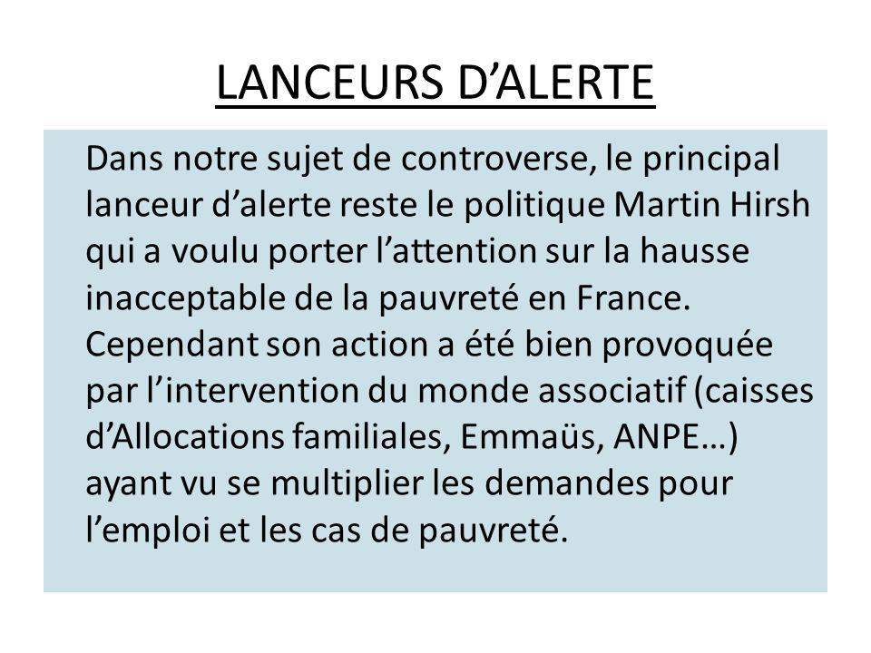 LANCEURS D'ALERTE