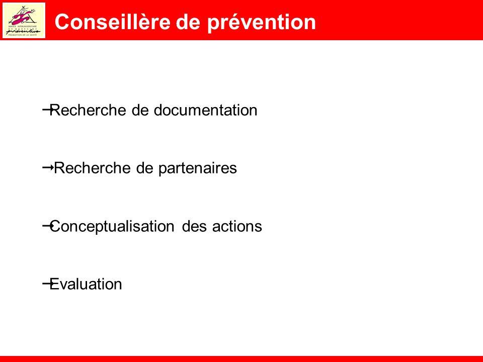 Conseillère de prévention