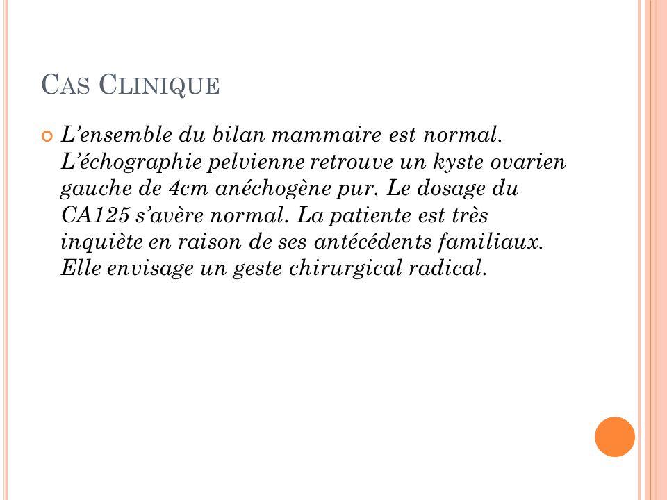 Cas Clinique