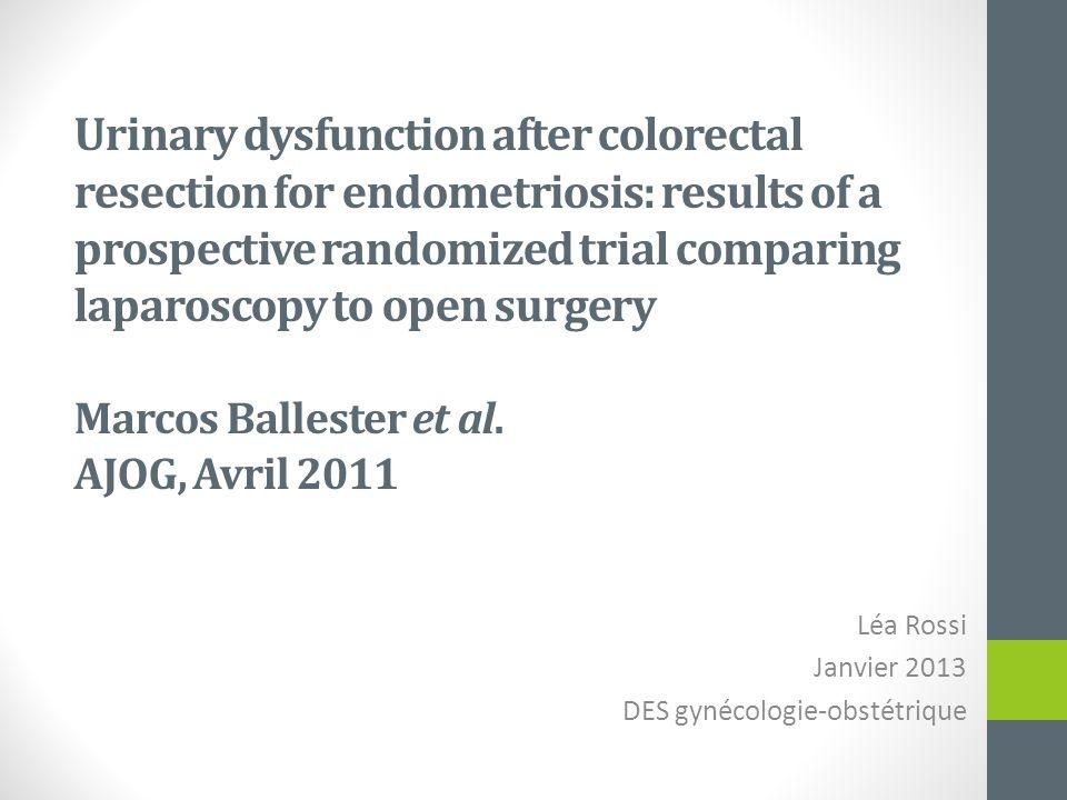 Léa Rossi Janvier 2013 DES gynécologie-obstétrique