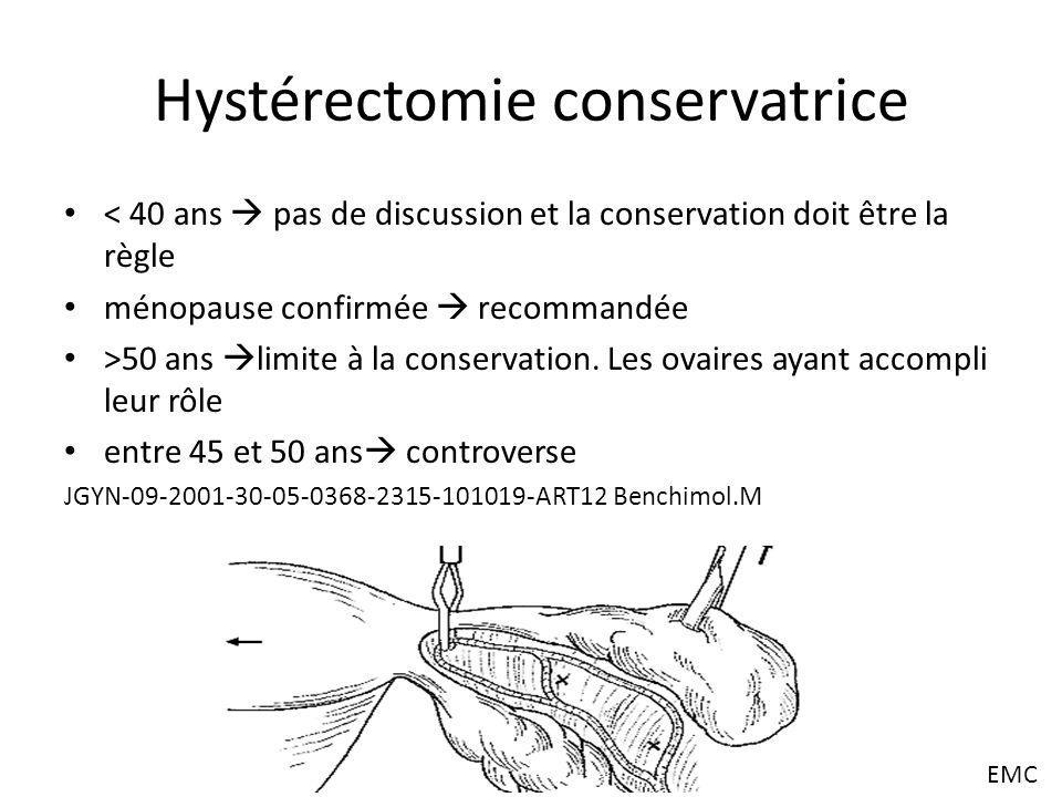 Hystérectomie conservatrice