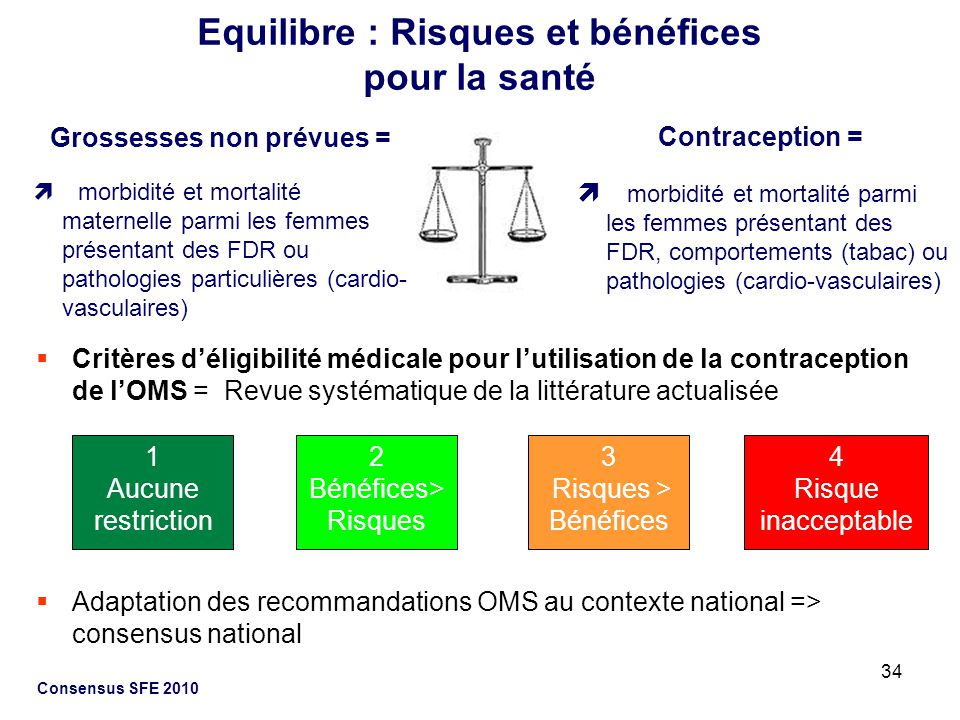Equilibre : Risques et bénéfices pour la santé
