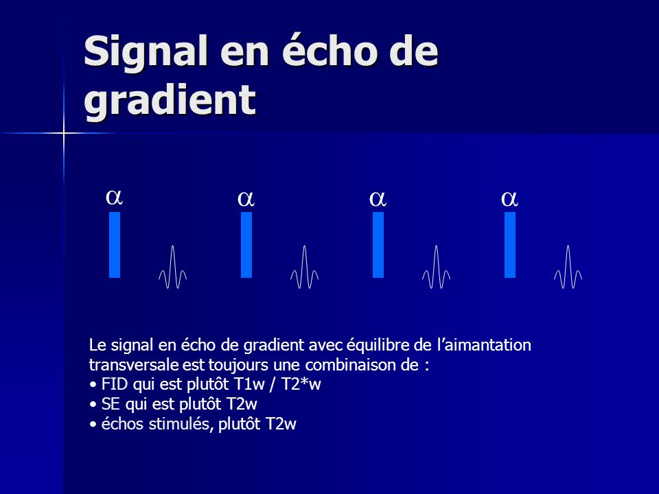 Signal en écho de gradient