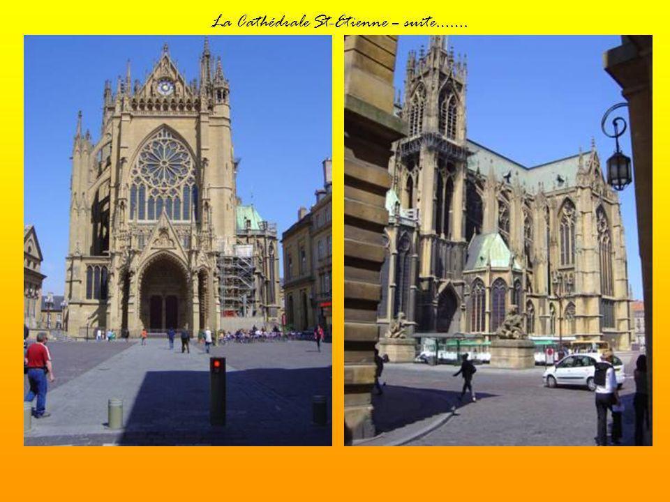 La Cathédrale St-Etienne – suite…….