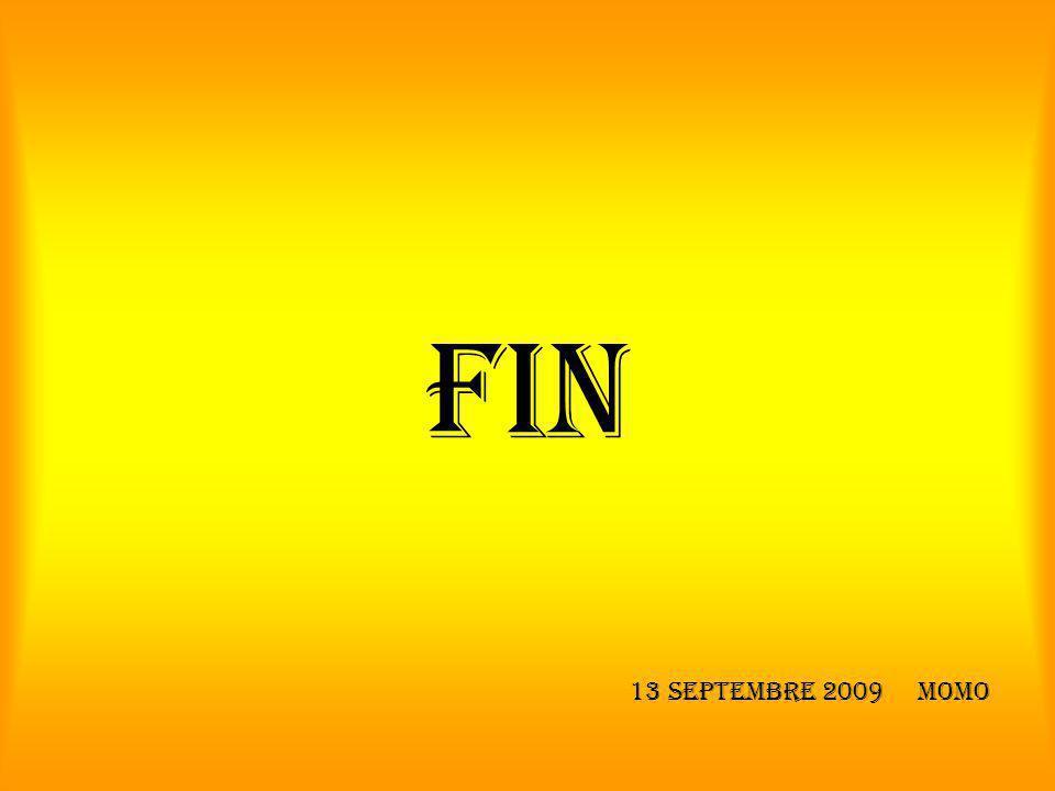 FIN 13 Septembre 2009 Momo