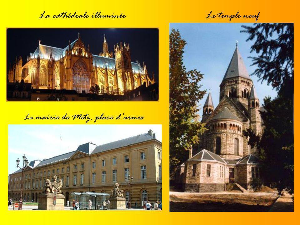 La cathédrale illuminée Le temple neuf