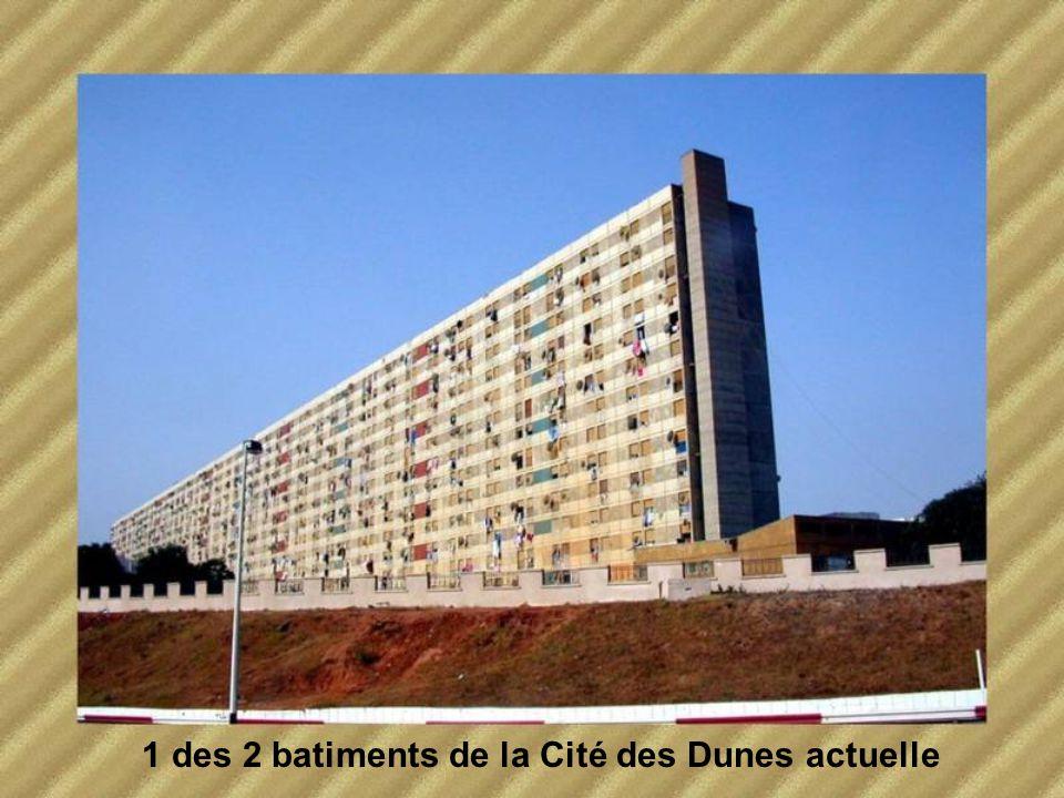 1 des 2 batiments de la Cité des Dunes actuelle
