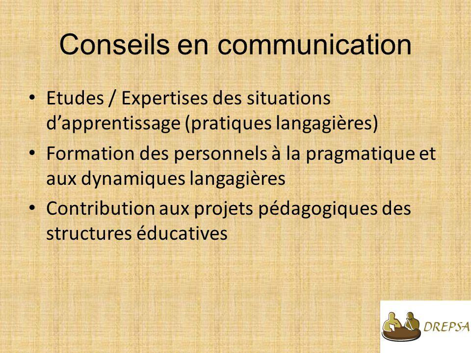 Conseils en communication