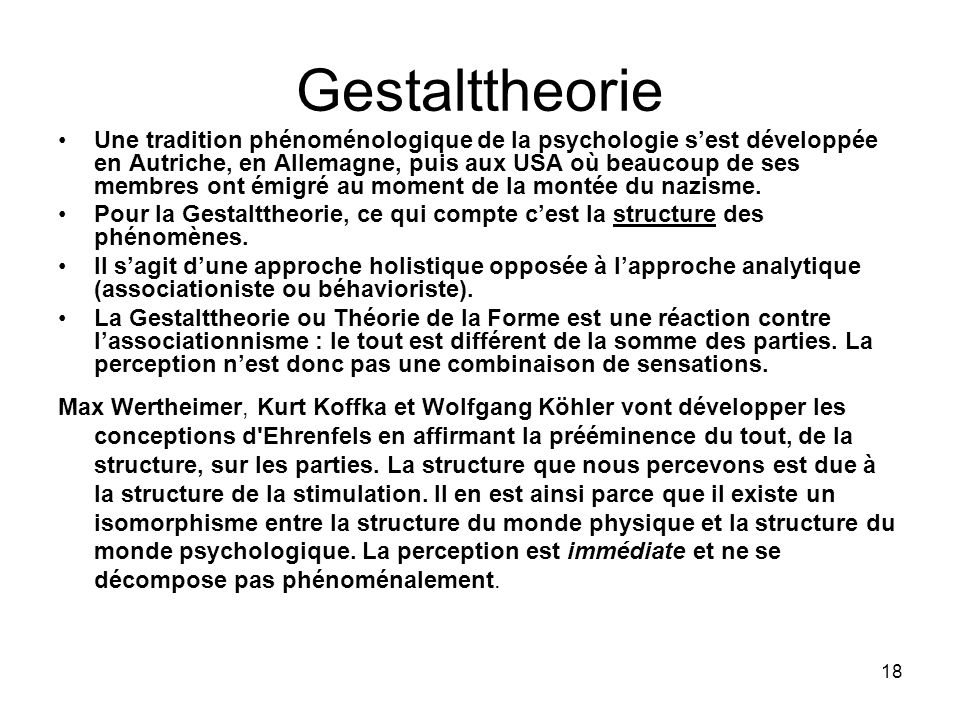 Gestalttheorie