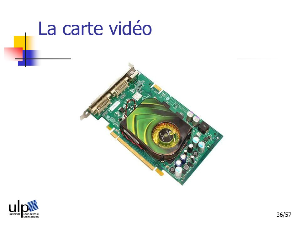 La carte vidéo