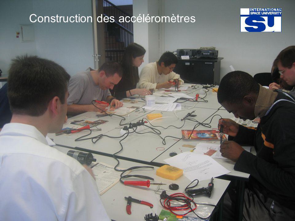 Construction des accéléromètres