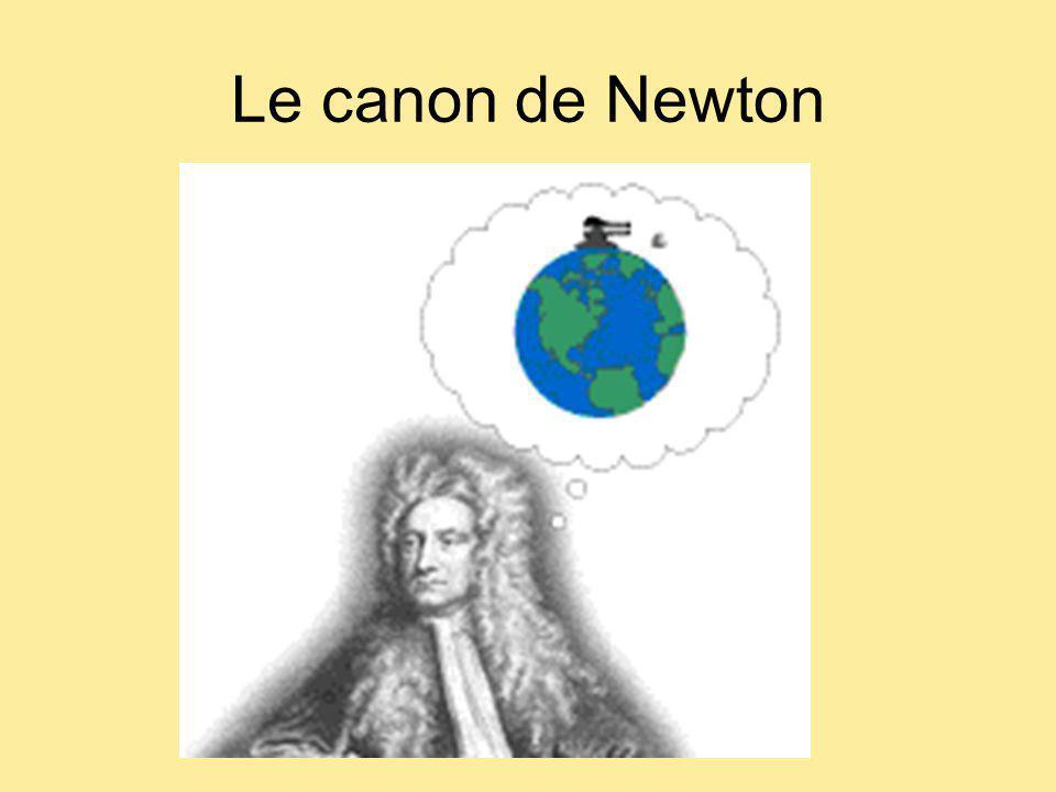 Le canon de Newton