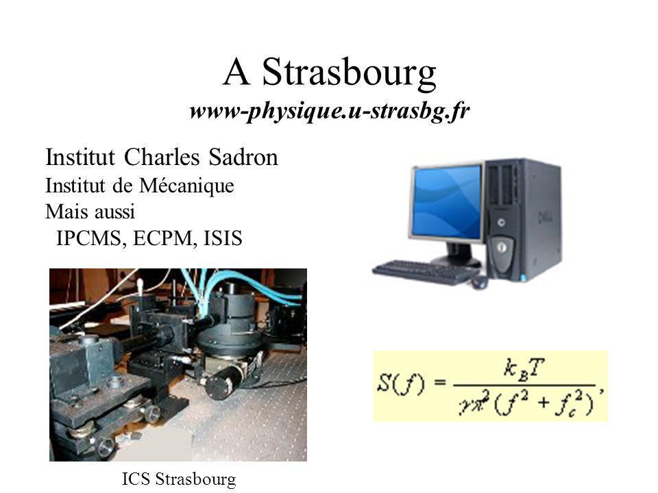 A Strasbourg www-physique.u-strasbg.fr