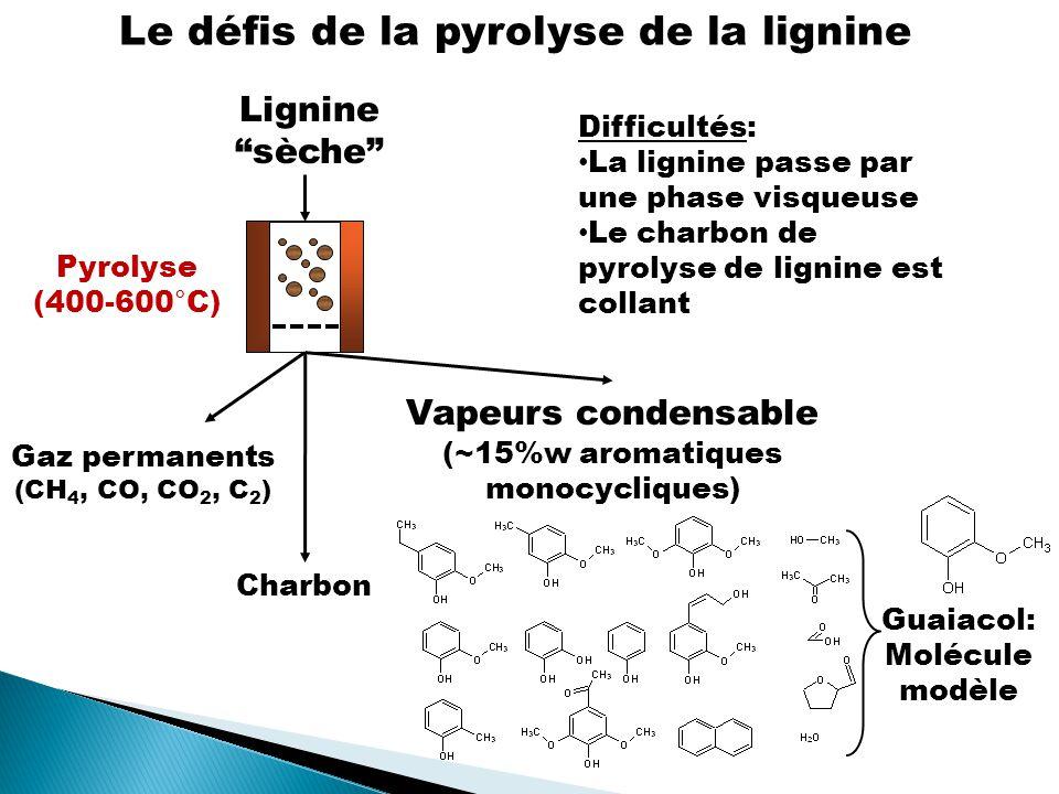 Le défis de la pyrolyse de la lignine